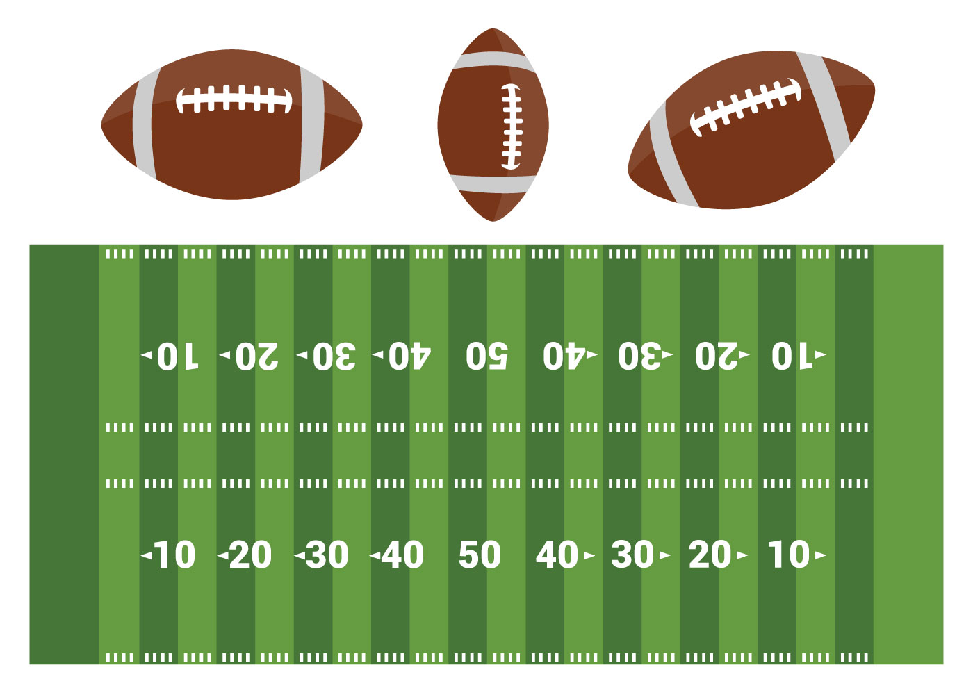 an analysis of american in football field At the nfl level and a description of each variable or factor used in the  analysis  in its most basic form, american football consists of two teams with  eleven  if a team fails to cross ten yards of the field in four downs, it relinquishes  the ball.