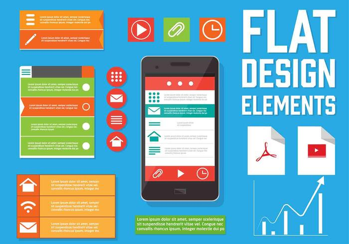 Free Vector Web Design Elements