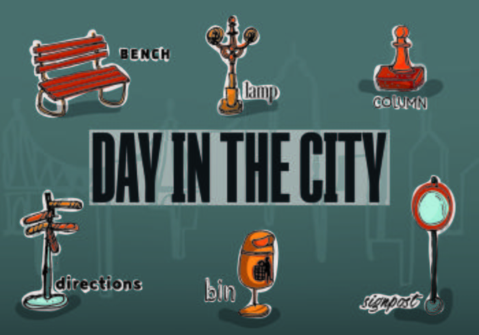 Free Vector City Objects