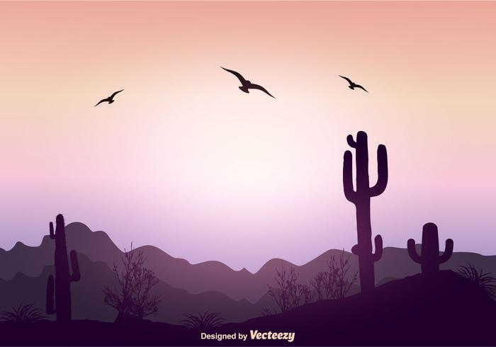 Beautiful Landscape Vector Illustration