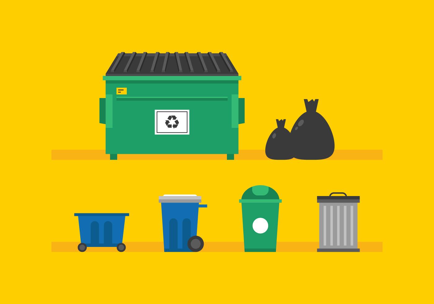 Vector Dumpster Download Free Vector Art Stock Graphics