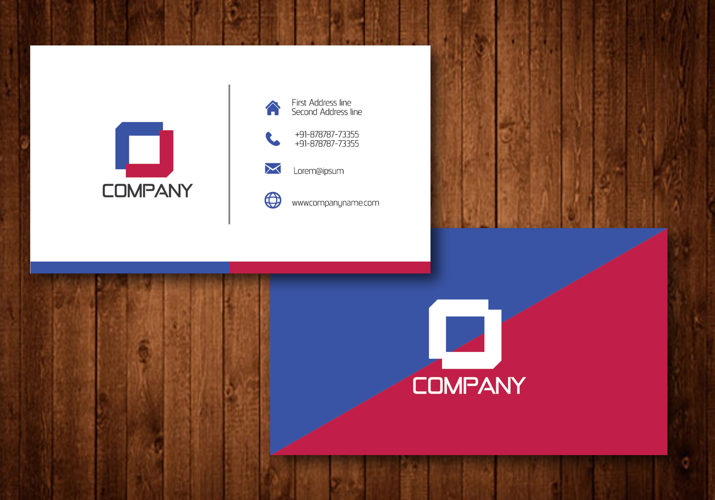 Diagonal creative business card template vector download free diagonal creative business card template vector download free vector art stock graphics images flashek Gallery