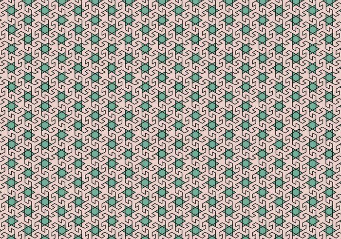 Padrão de mosaico em mosaico