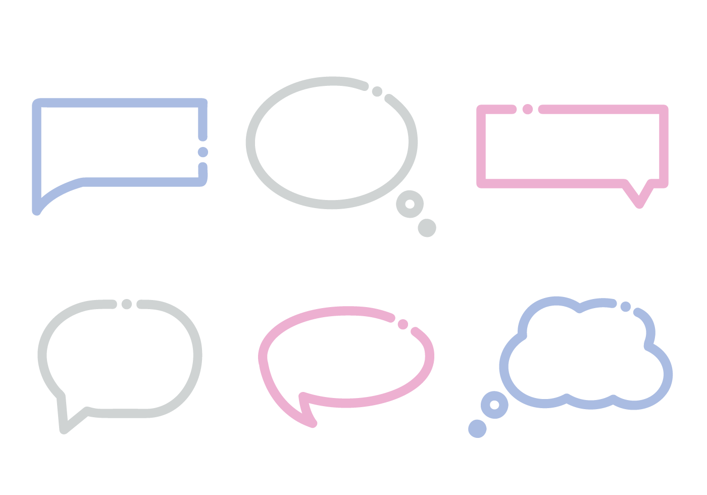 Free Dialogue Box Vector Download Art Stock