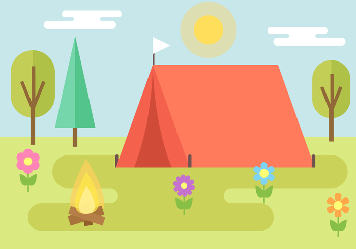 Free Camping Vector