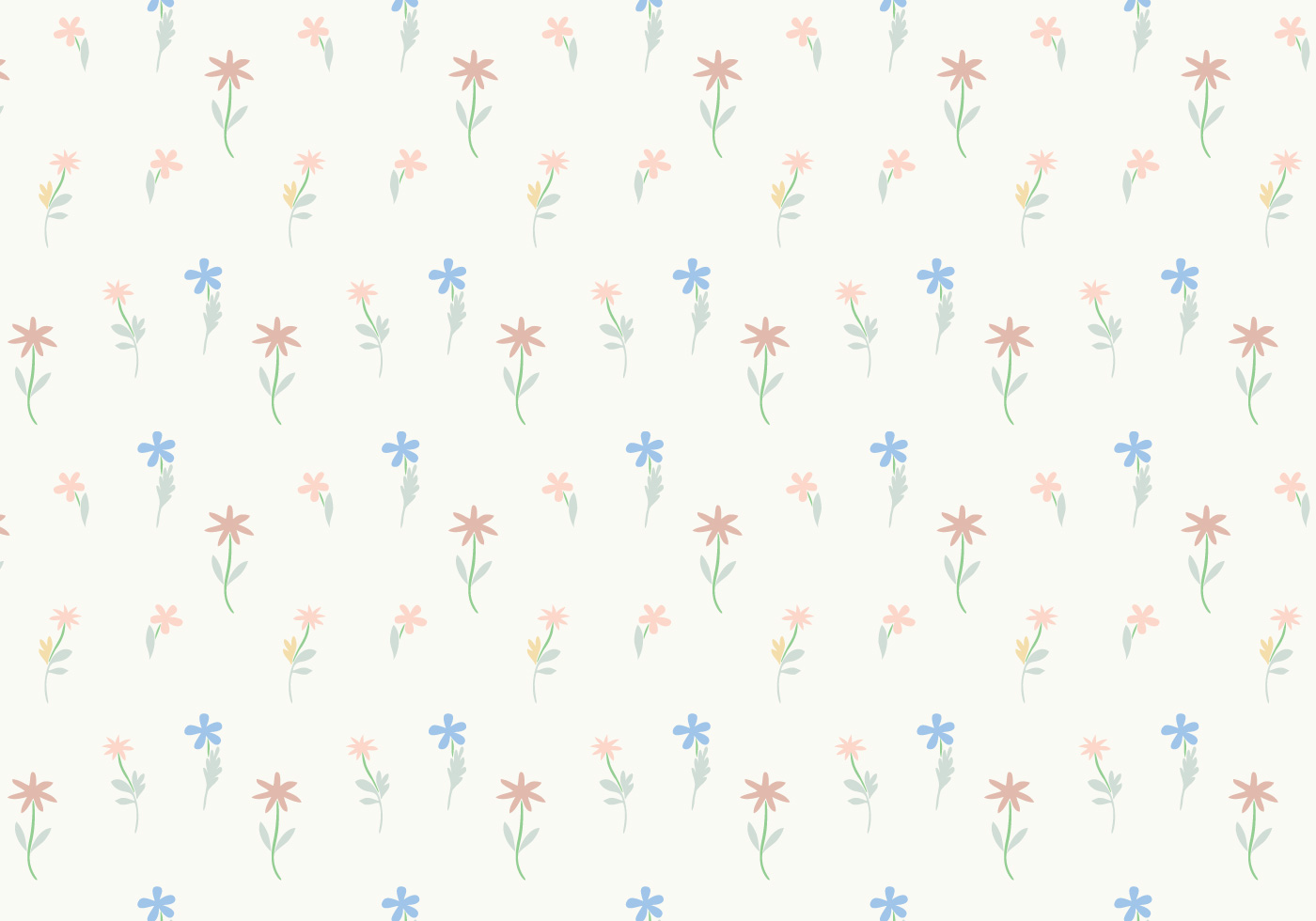 pastel floral wallpaper these - photo #42