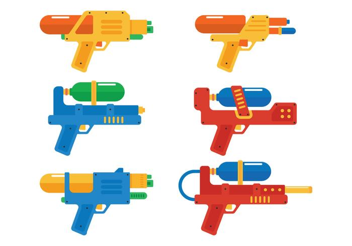 Water Gun Illustratie