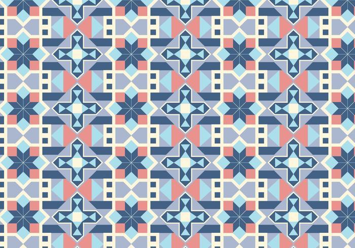 Geometric Tiled Pattern Background