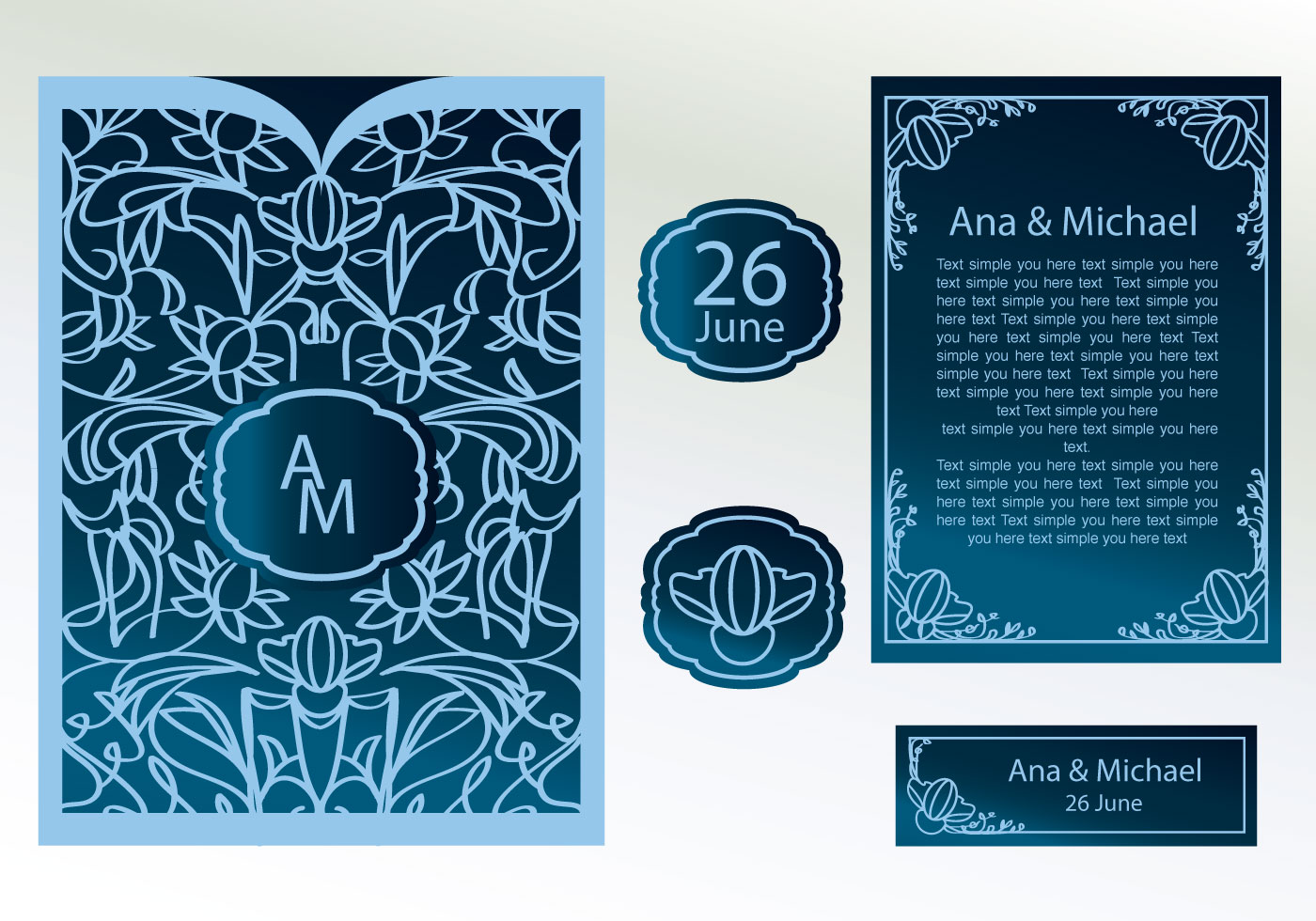 Digital Wedding Invitations Templates as perfect invitation ideas