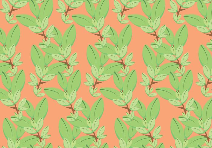 Free Thyme Vector Pattern #2