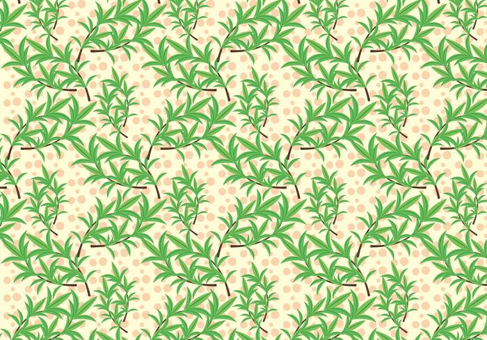 Free Thyme Vector Pattern #1