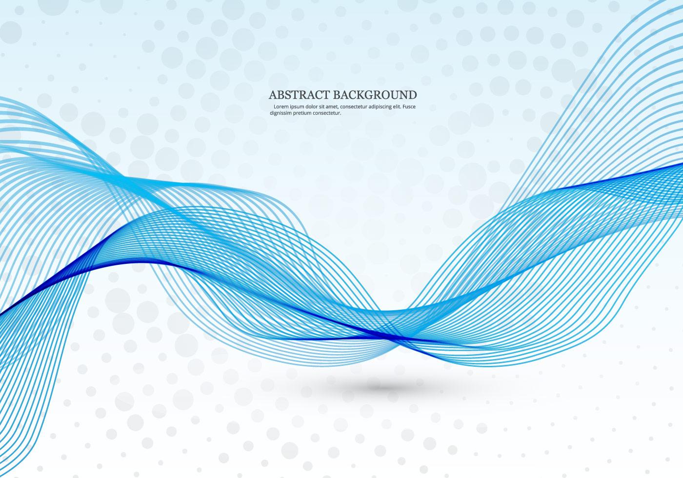 blue line wave background - photo #35