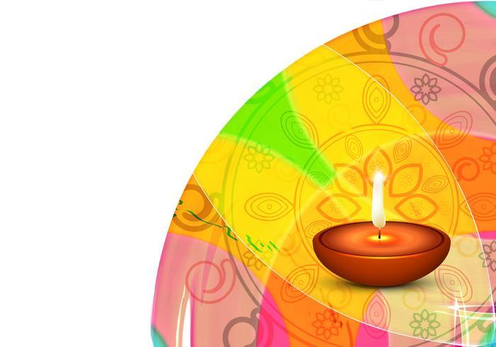 Decorative Diwali Festival Card