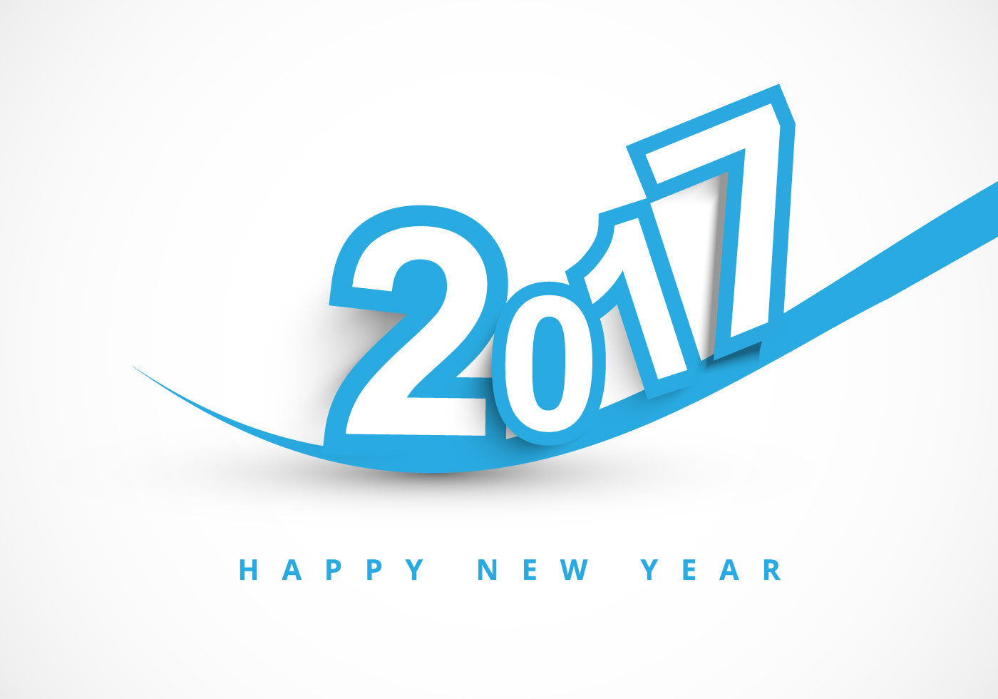 2017 happy new year greeting card download free vector art stock graphics images