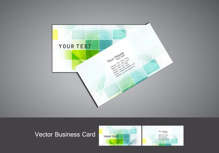 Set Of Business Card