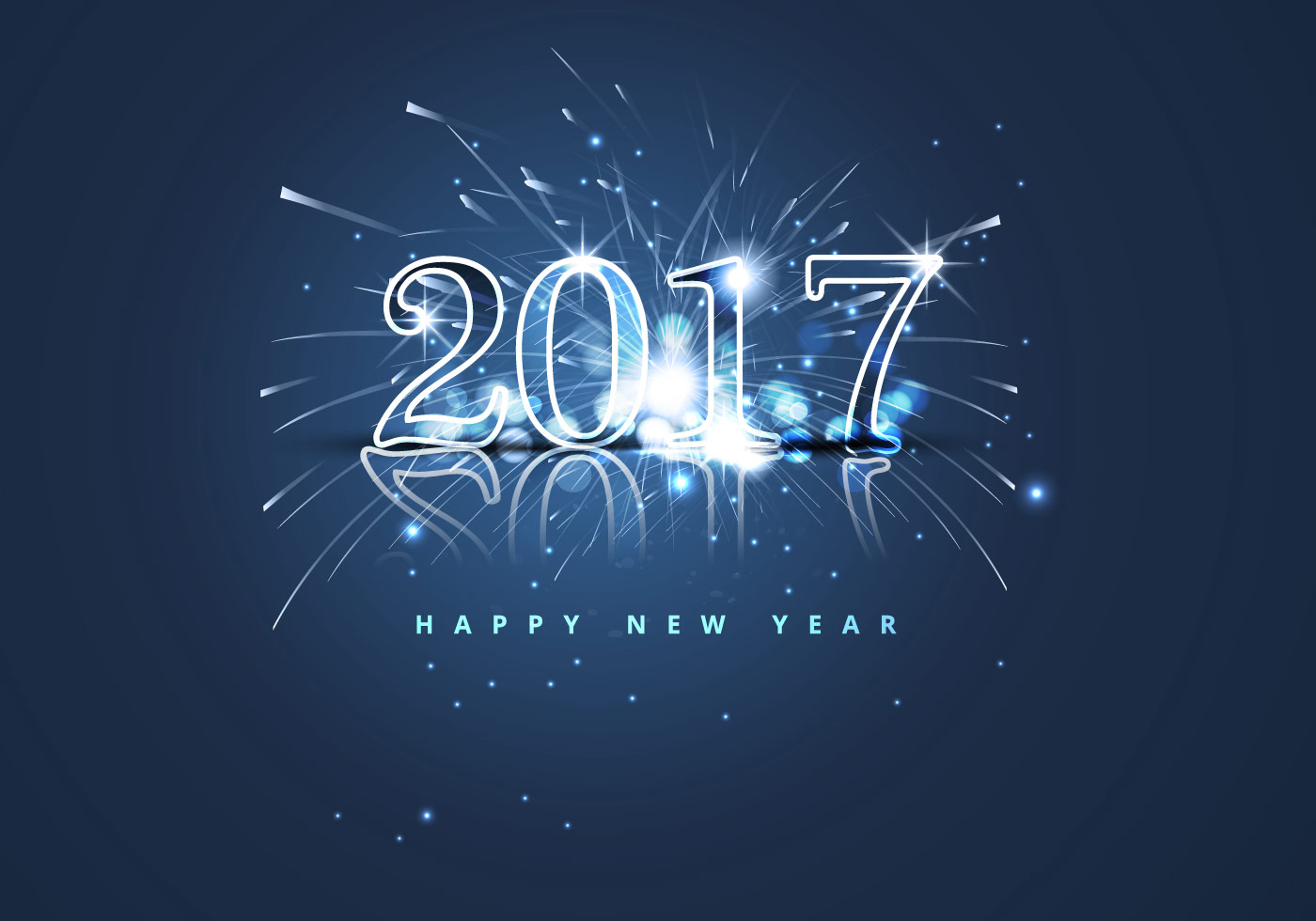 happy new year 2017 with fire cracker download free vector art stock graphics images