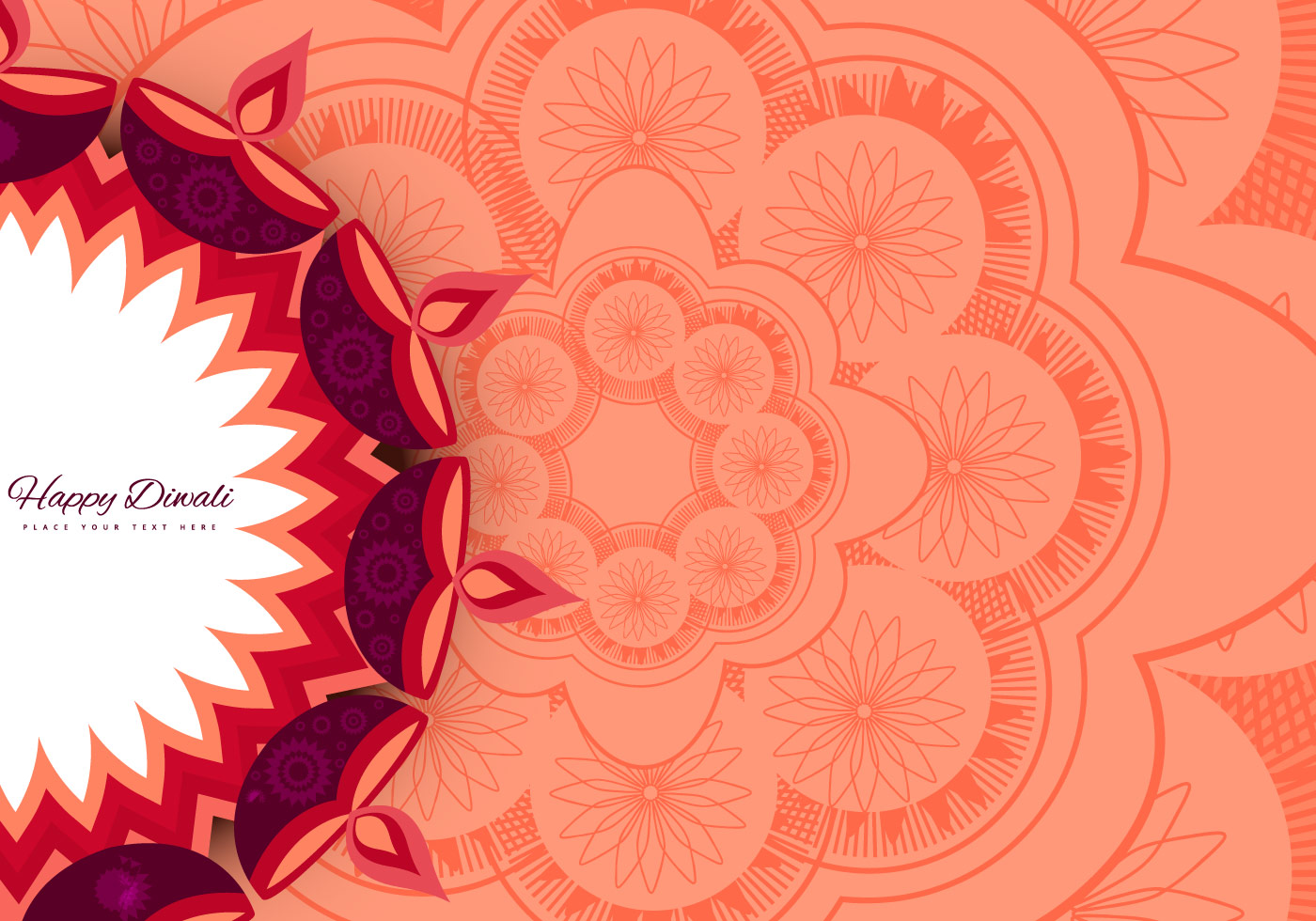 Diya Rangoli Design Download Free Vector Art Stock Graphics Images