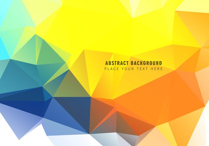 Polygonal Triangular Abstract Background