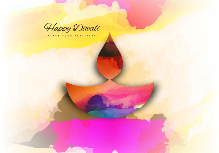 Beautiful Colorful Diwali Background Design