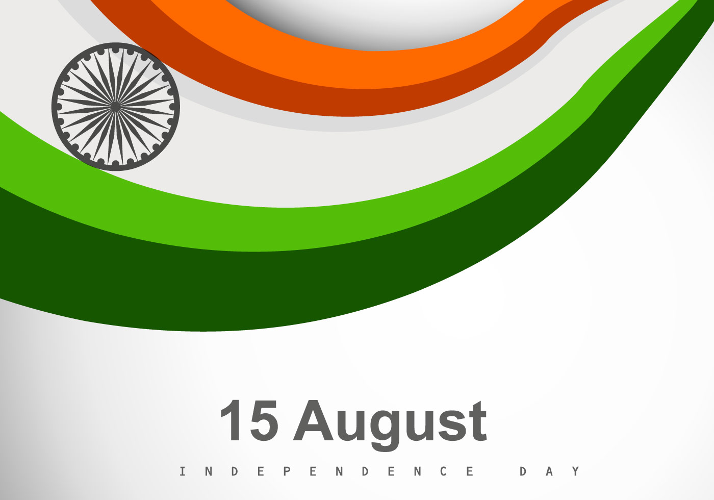 Tri Color Indian Flag - Download Free Vector Art, Stock Graphics ...