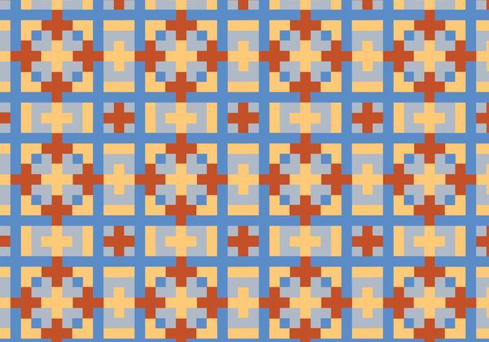 Quadrato geometrico pattern Bakground