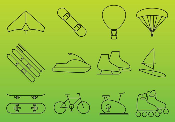 Recreation Vector Icons