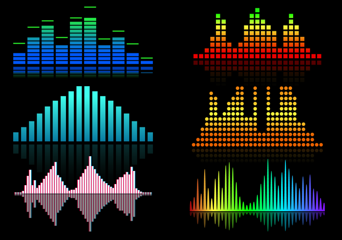 Free Sound Bars Vector