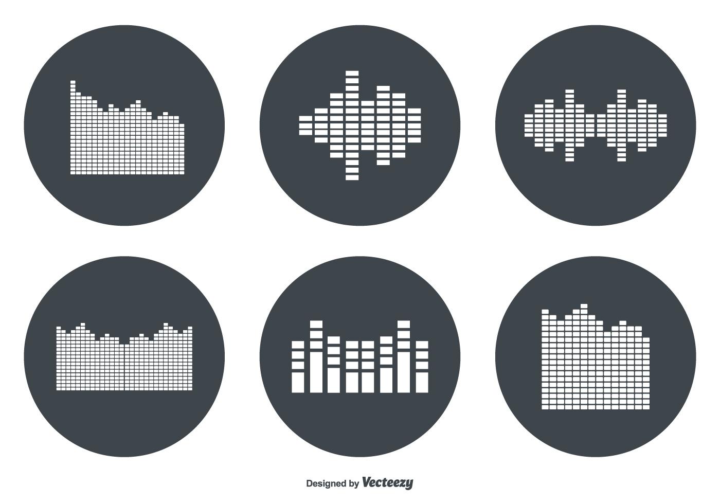 Sound Bar Vector Icon ...