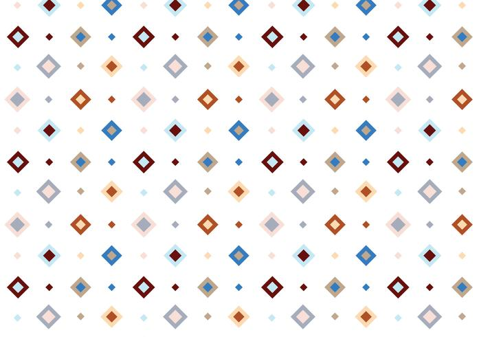 Pastel Square Vector Pattern