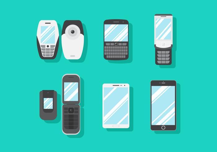 Vector Handphone