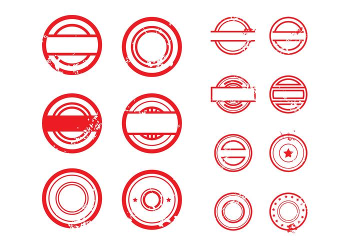 X Circle Icon Free Stempel Vector Il...