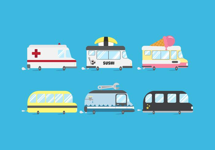 Vector Minibus Pack