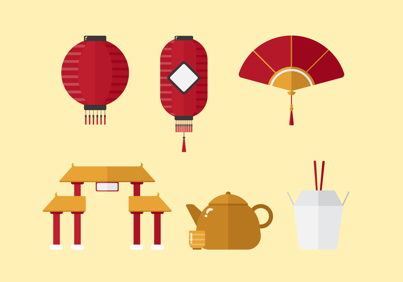 Vector china town download free vector art stock for Chinese vector