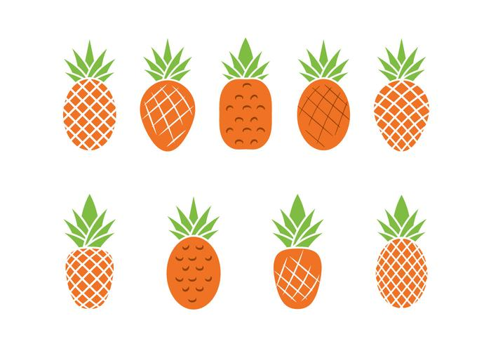 Free Ananas Vector Illustration