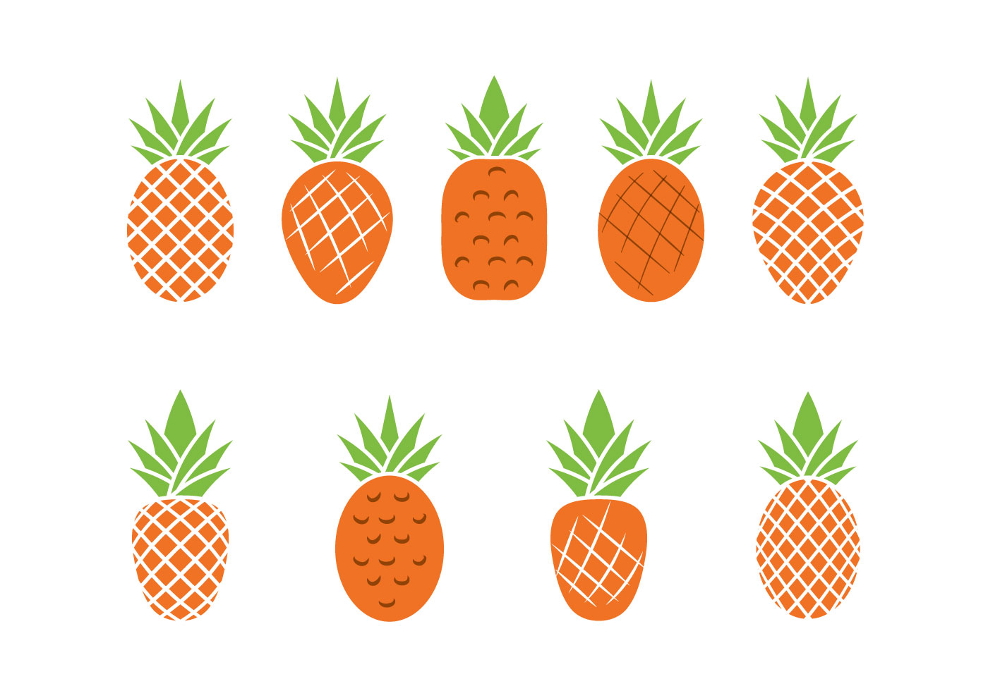 Download Free Vector Art Stock: Free Ananas Vector Illustration