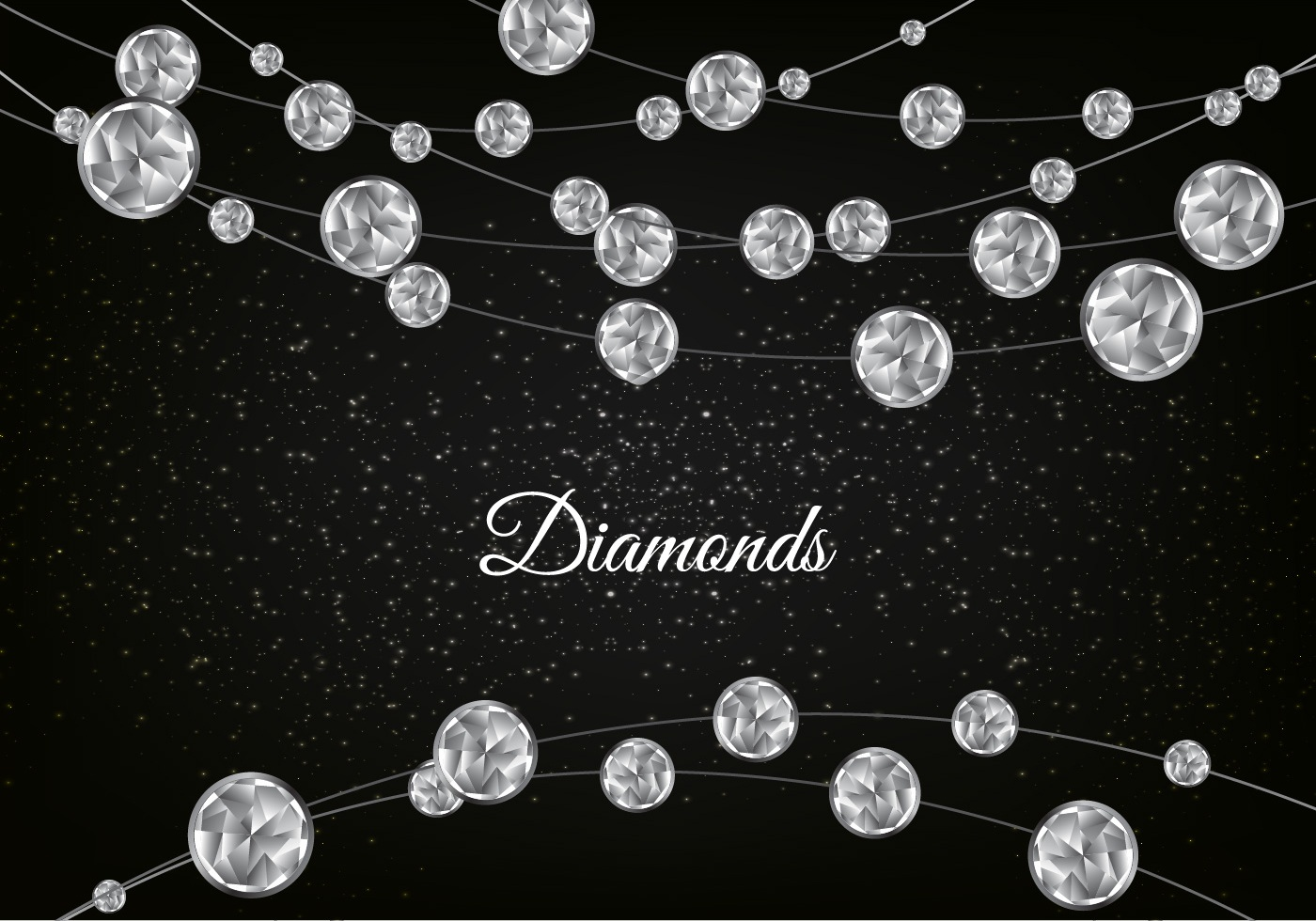 diamond vector background - photo #16