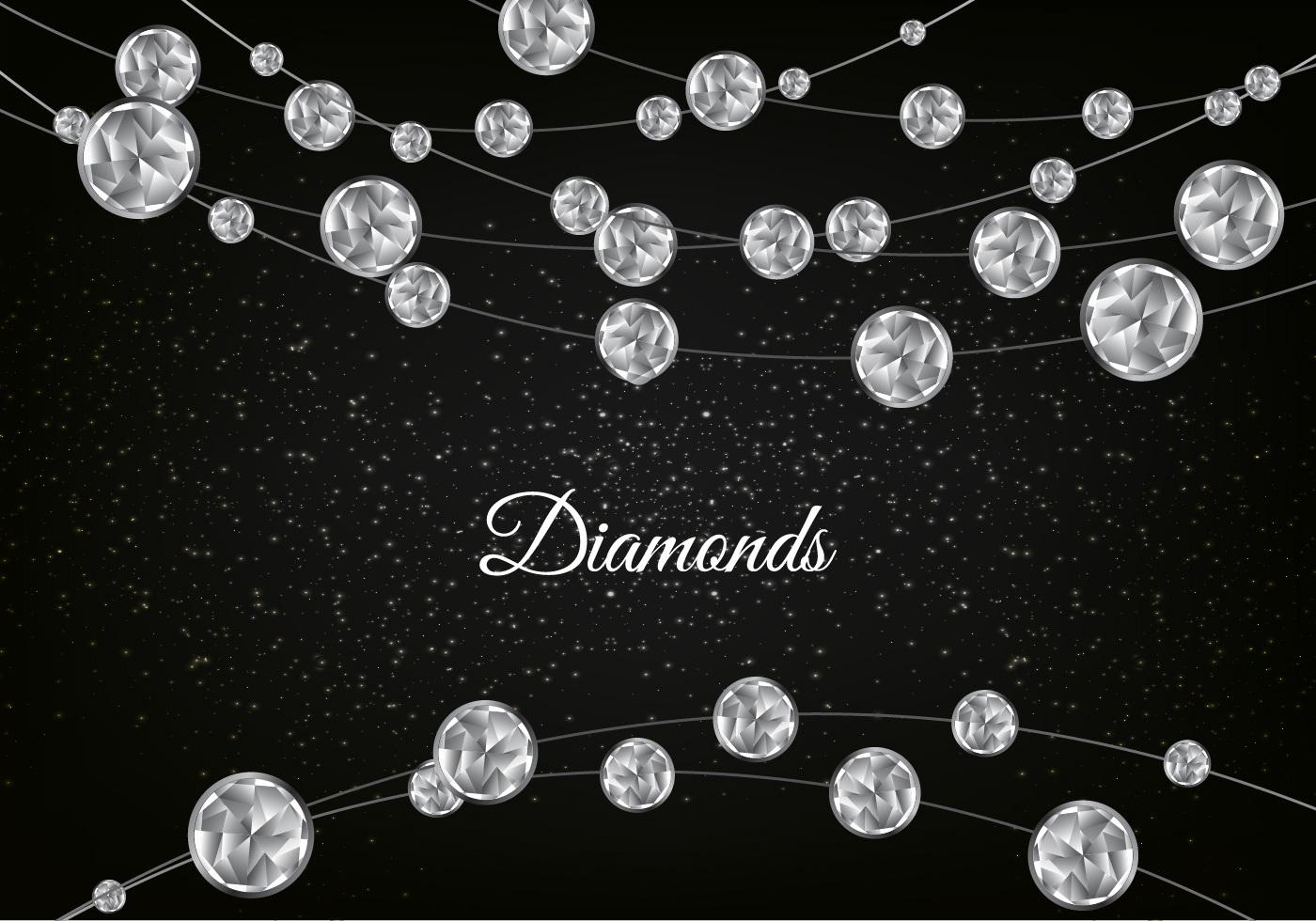 diamond background vector - photo #7