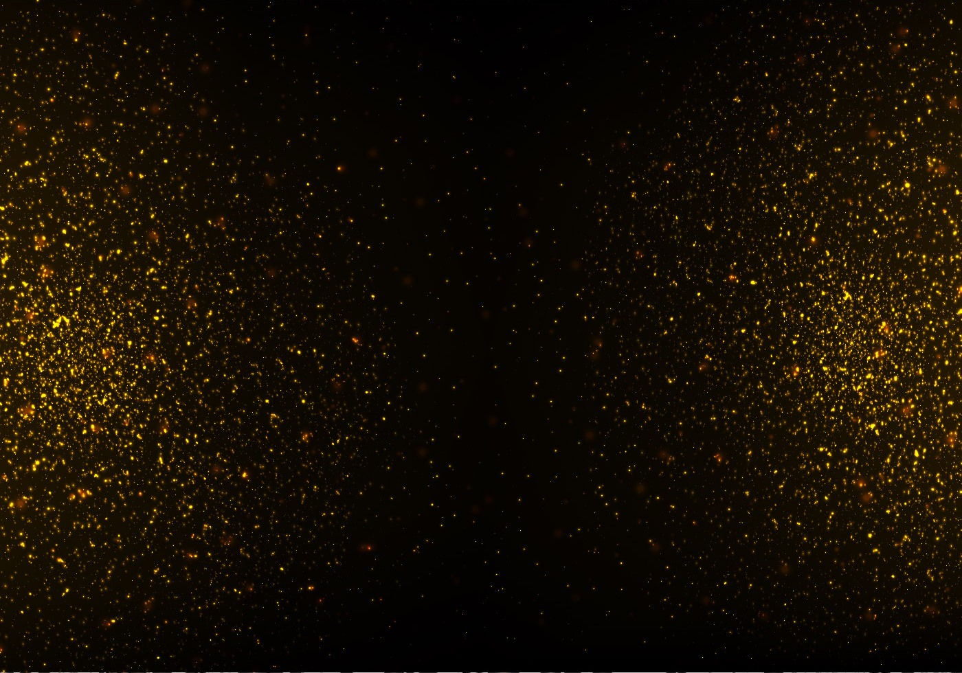 strass vector gold glitter texture on black background