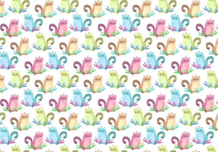 Free Vector Pattern With Animals