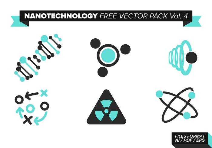 Nanotecnología Libre Vector Pack Vol. 4
