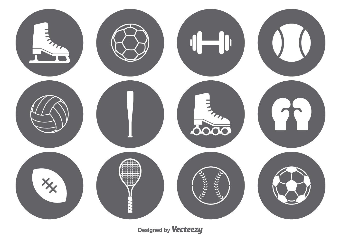 Sports icon vector