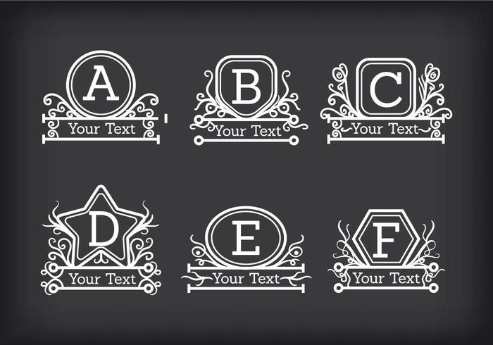 Vector Monogramas