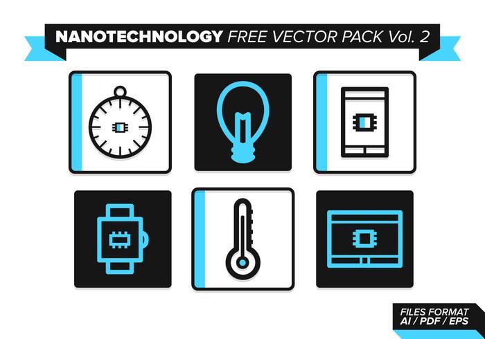 Pack vecteur libre de nanotechnologie vol. 2