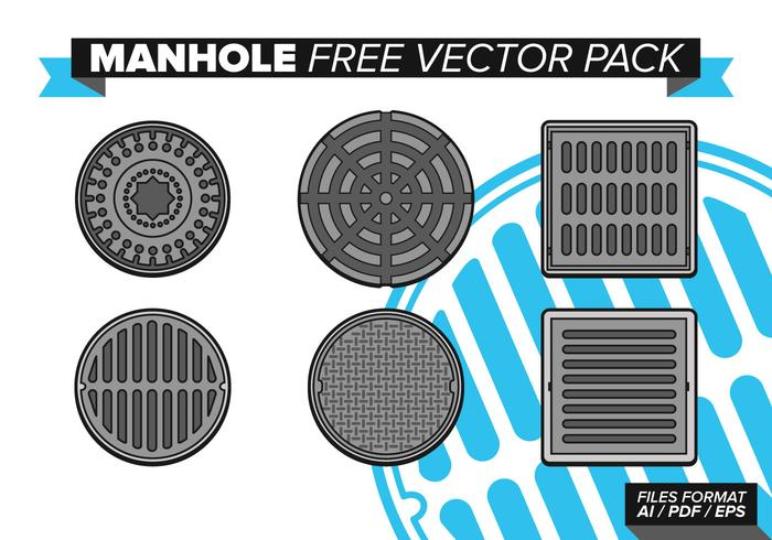 Manhole Free Vector Pack