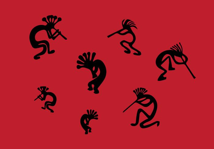 Illustrations de Kokopelli