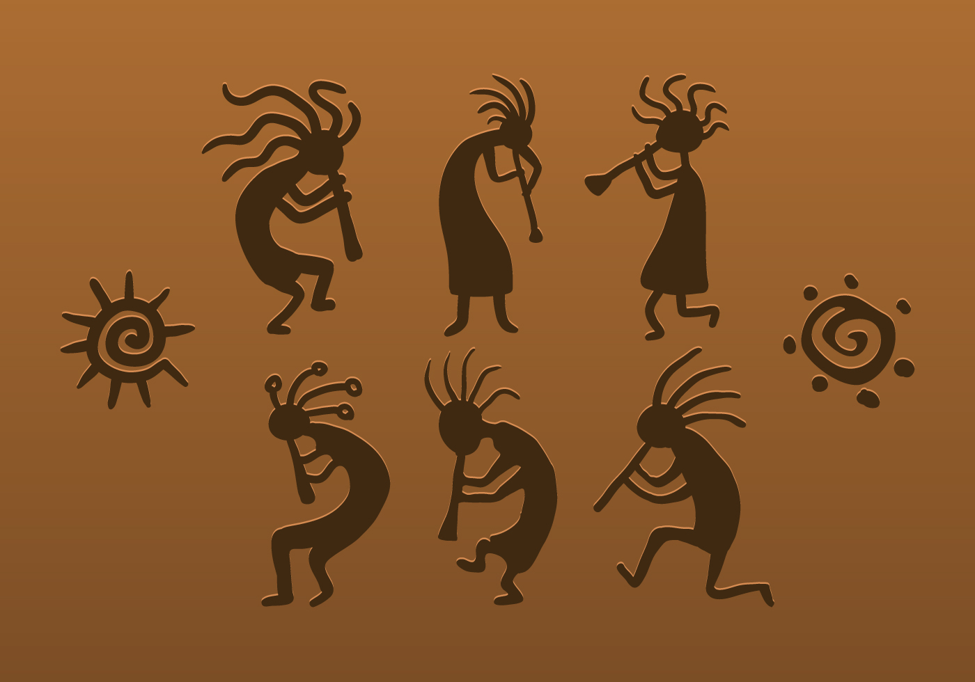 Vector Kokopelli Download Free Vector Art Stock