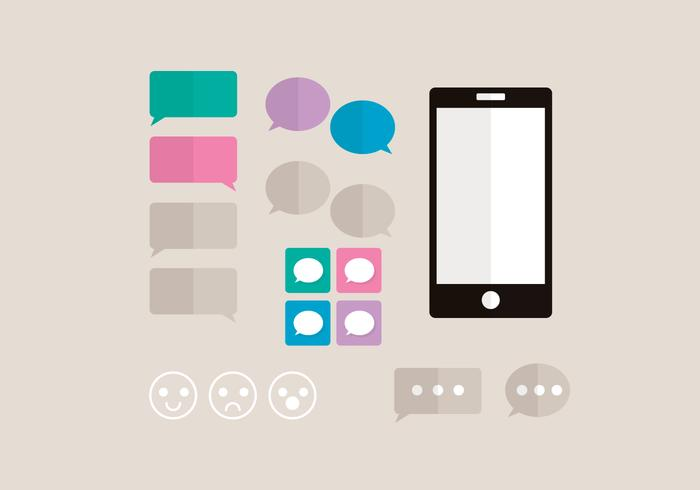 iMessage Vector Elements