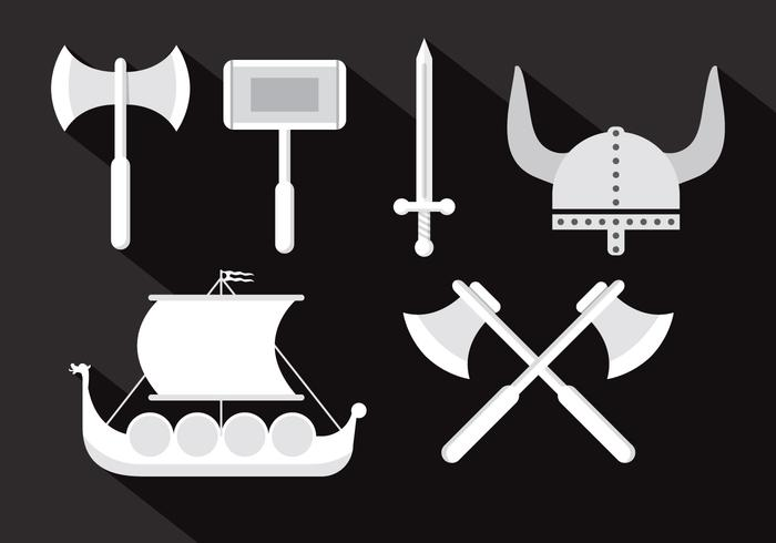 Viking Vector Illustrationer