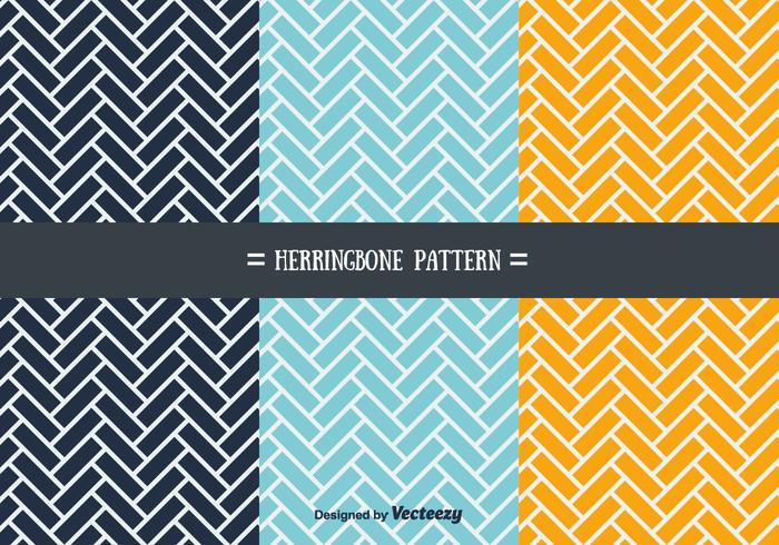 Herringbone Pattern Vectors