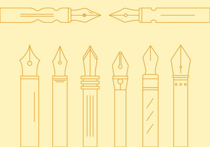 Free Pen Nib Vector # 1